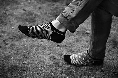 Férfi lábfej