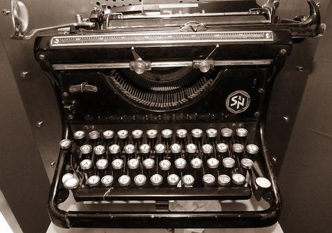 Írógép cikkíráshoz