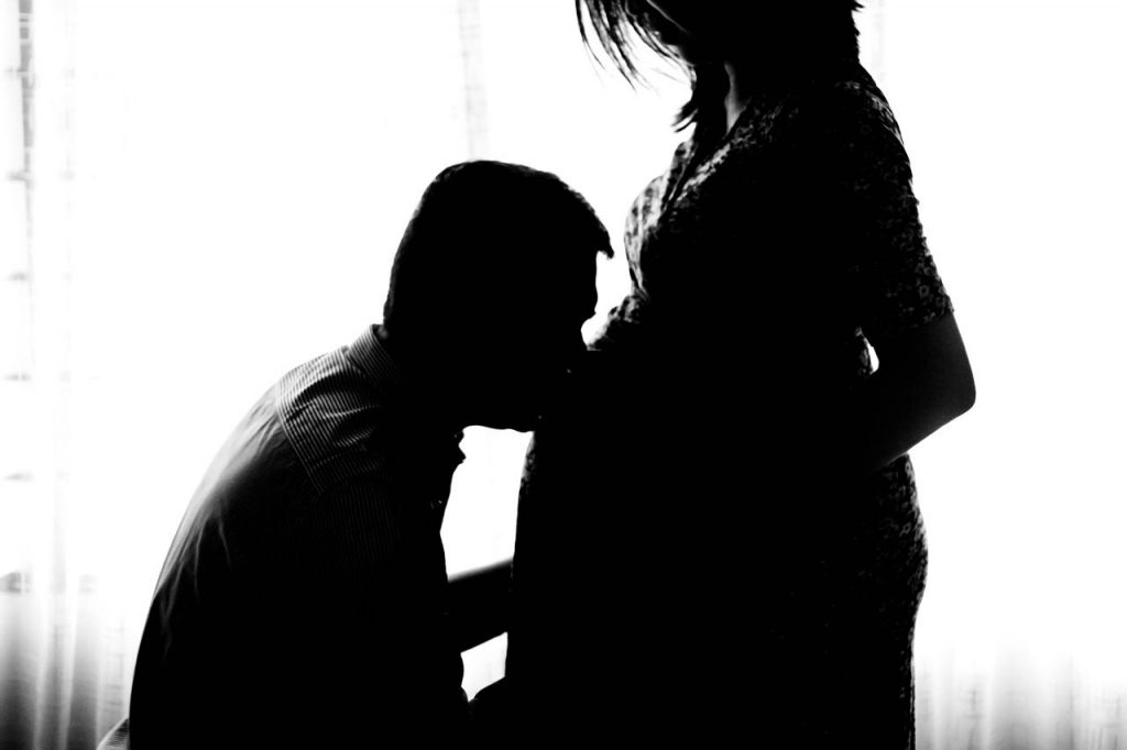 terhes puszi